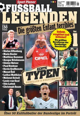 Sportplaner Fußball Legenden 01/2020