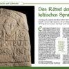 Sprache und Literatur - All About History Special: Die Kelten 03/2020