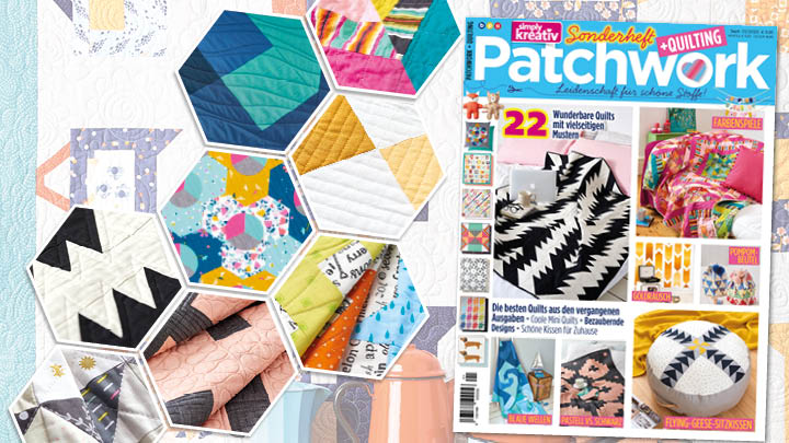 Simply Kreativ Sonderheft Patchwork + Quilting 01/2020