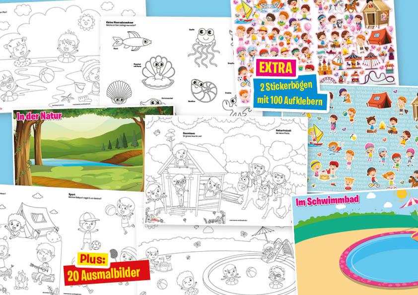 Kids Kreativ Sticker Sonderheft: Urlaub erleben 01/2020