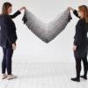 Häkelanleitung - Black'n'White-Tuch - Simply Kreativ Sonderheft Skandinavische Häkel-Designs