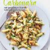Rezept - Carbonara mit geröstetem Blumenkohl und Haselnüssen - Simply Kochen Nudeln selbst gemacht 01/2020