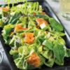 Rezept - Spinat-Farfalle mit Avocado und Räucherlachs - Simply Kochen Nudeln selbst gemacht 01/2020
