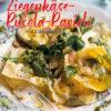 Rezept - Ziegenkäse-Rucola-Ravioli mit Zitronenpesto - Simply Kochen Nudeln selbst gemacht 01/2020