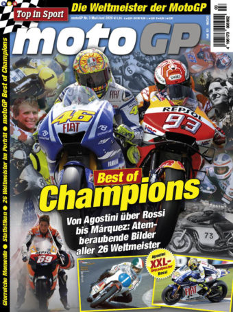 Top in Sport – MotoGP Heft 03/2020