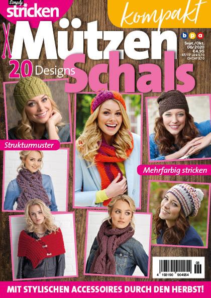 Simply Stricken kompakt Mützen und Schals 06/2020