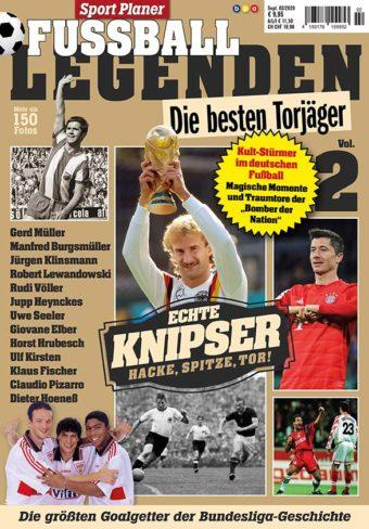 Sportplaner Fußball Legenden Vol. 2