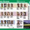 Werder Bremen - Sport Planer Bundesliga 2020/21 + Beileger