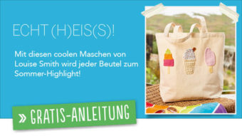 Gratis Strickanleitung - Eis Patches