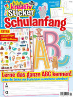 Kids Kreativ Sticker: Schulanfang 08/2020