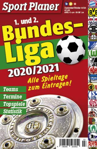 Sport Planer Bundesliga 2020/21