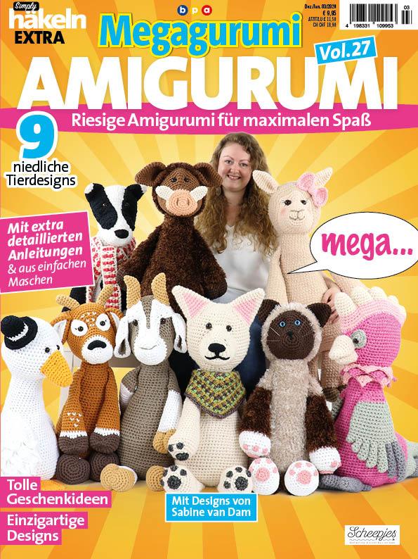 Simply Häkeln Sonderheft Amigurumi Vol. 27 – Megagurumi