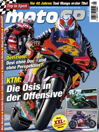Top in Sport – MotoGP Heft 05/2020