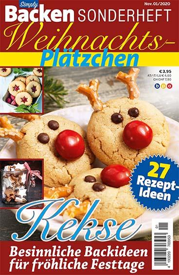 Simply Backen Sonderheft Weihnachts-Plätzchen – 01/2020