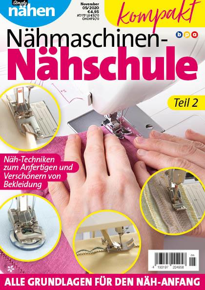 Simply Nähen kompakt Nähmaschinen-Nähschule Teil 2
