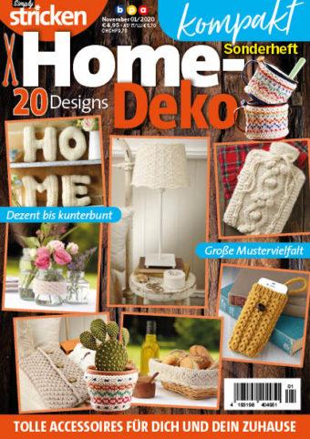 Simply Stricken kompakt Sonderheft Home-Deko 01/2020