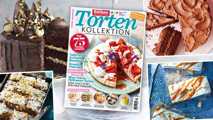 Simply Backen Kollektion Torten und Kuchen 01/2021