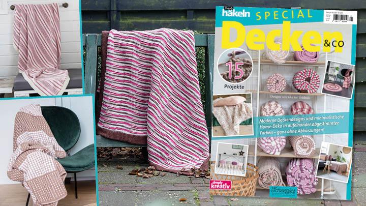 Simply Häkeln Special Decken & Co 01/2021