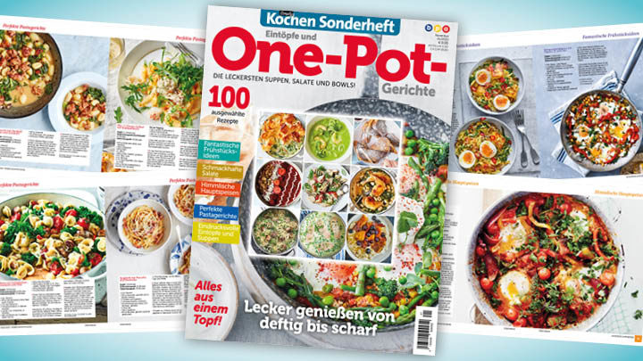 Simply Kochen Sonderheft: One-Pot-Gerichte
