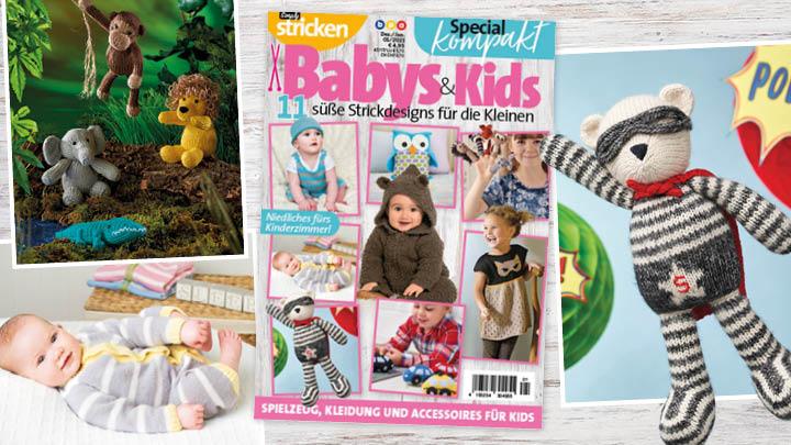 Simply Stricken kompakt Special Babys und Kids 01/2021