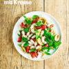 Rezept - Tomaten-Bohnen-Salat mit Kresse - Vegan Food & Living – 05/2020