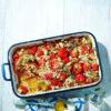 Rezept - Zwiebel-Tomaten-Gratin - Vegan Food & Living – 05/2020