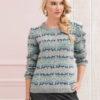 Strickanleitung - Fair Isle-Pullover - Best of Designer Knitting 01/2021