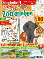 Kids Kreativ Sticker Sonderheft: Zoo erleben 02/2020