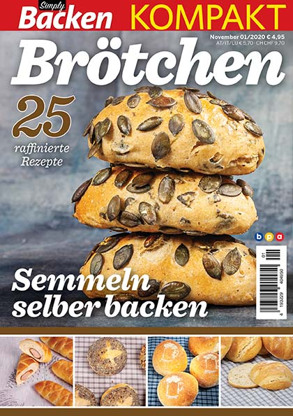 Simply Backen kompakt Brötchen – 01/2020