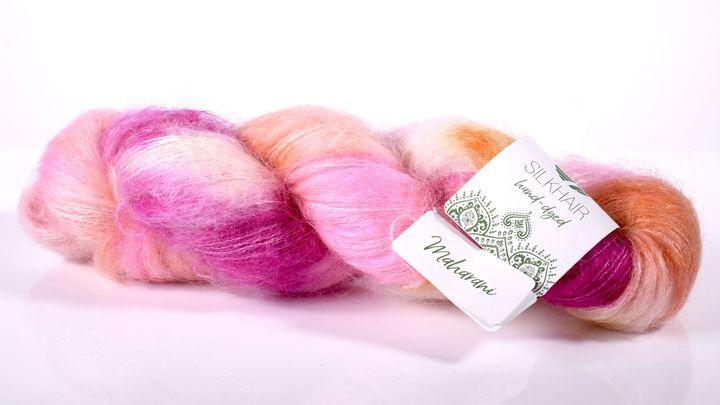 Lana Grossa Silkhair hand-dyed Maharani