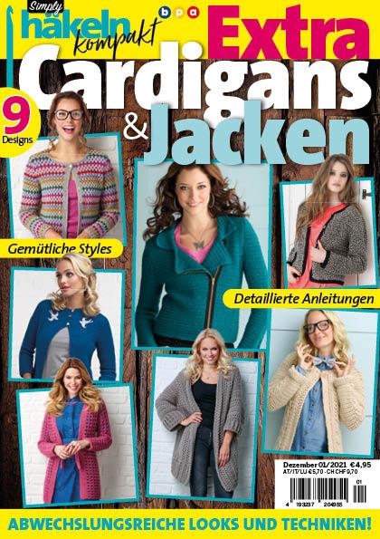 Simply Häkeln kompakt Extra Cardigans & Jacken 01/2021