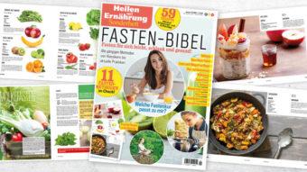 Heilen mit Ernährung Sonderheft Fasten-Bibel 01/2021