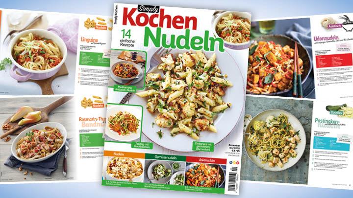 Simply Kochen Nudeln 04/2020