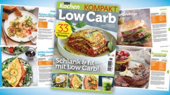 Simply Kochen Kompakt Low Carb 01/2021