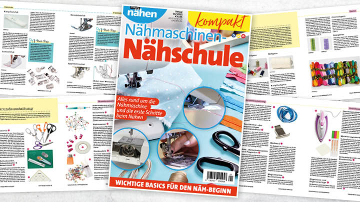 Simply Nähen kompakt Nähmaschinen-Nähschule 01/2021
