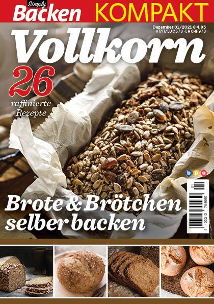 Simply Backen kompakt Vollkorn – 01/2021