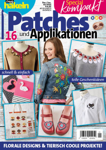 Simply Häkeln Special kompakt Patches und Applikationen 01/2021