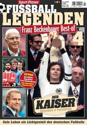 Sportplaner Fußball Legenden – Best of Franz Beckenbauer