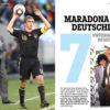 Maradona & Deutschland - Sportplaner Fußball Legenden Sonderheft Diego Maradonna