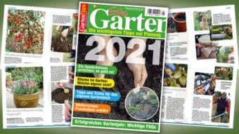 Garten-Tipps Kompakt Extra Gartenplaner 2021