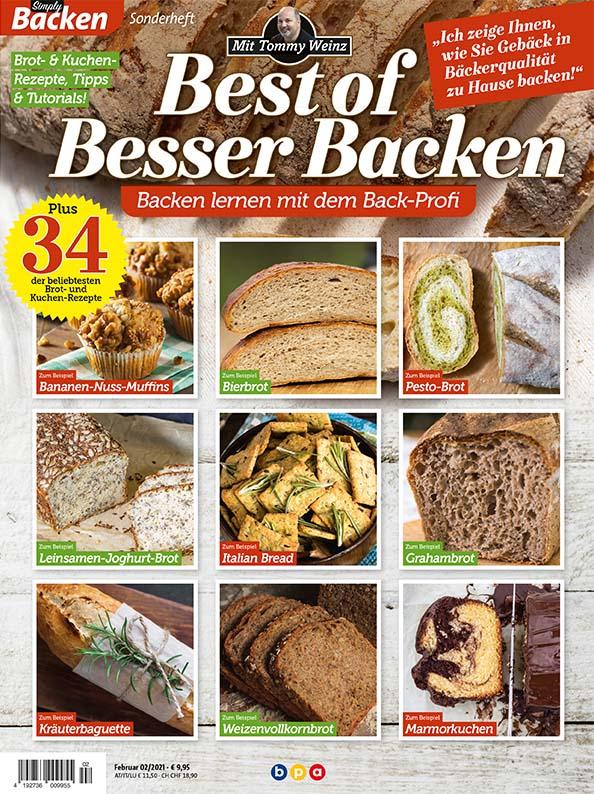 Best of Besser Backen mit Tommy Weinz – 02/2021