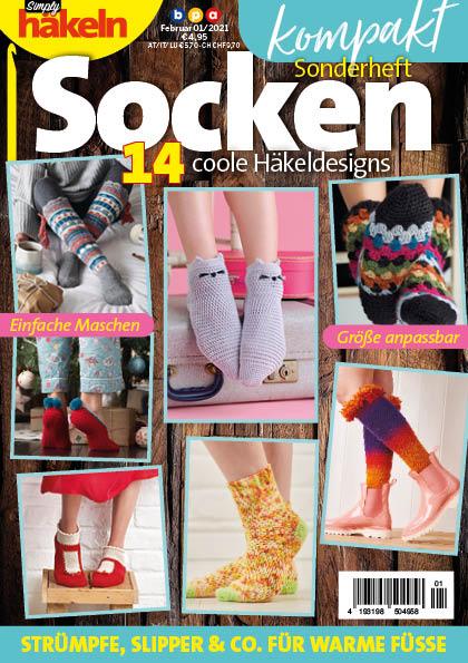 Simply Häkeln Kompakt Sonderheft Socken 01/2021