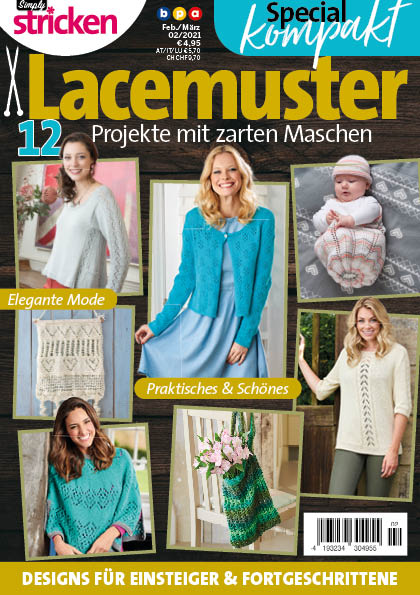 Simply Stricken Kompakt Special Lacemuster 02/2021