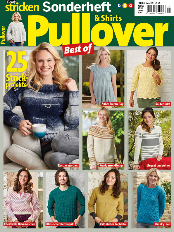 Simply Stricken Sonderheft Best of Pullover & Shirts 02/2020