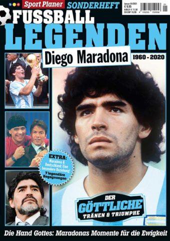 Sportplaner Fußball Legenden Sonderheft Diego Maradonna