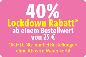 40 % Lockdown-Rabatt
