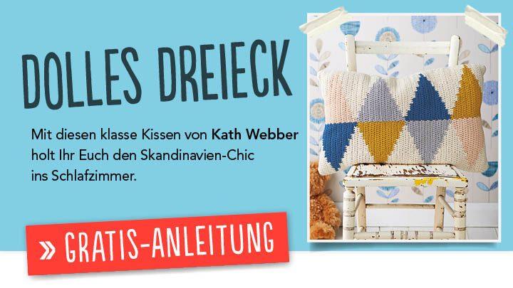 Gratis Häkelanleitung - Dolles Dreieck