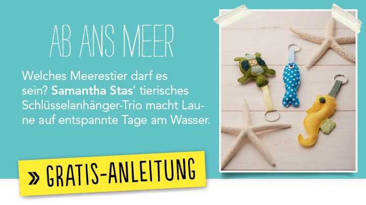 Newsletter Gratis Nähanleitung - Ab ans meer