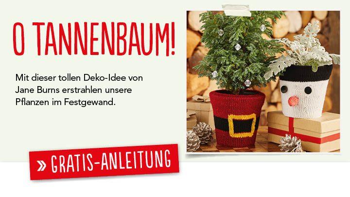Gratis Strick-Anleitung Weihnachtstöpfe Simply Stricken