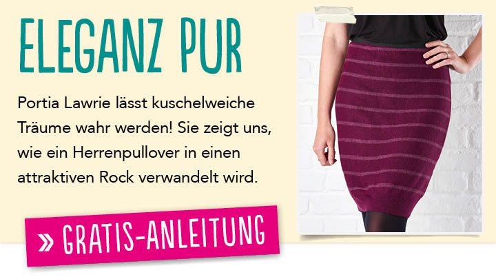 Newsletter Gratis Nähanleitung - Eleganz Pur